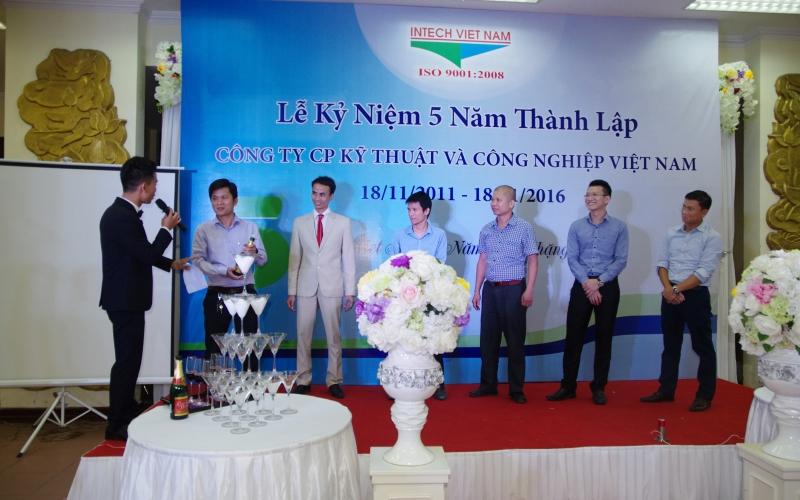 Kỷ niệm 5 năm thành lập Intech Việt Nam