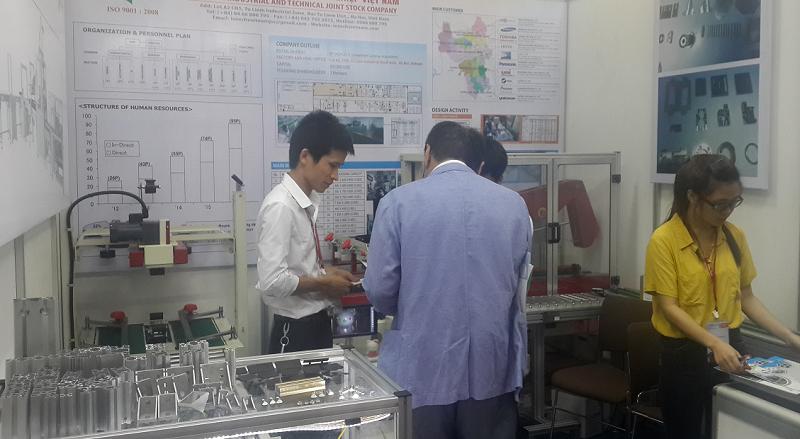 Triển lãm công nghiệp hỗ trợ Việt Nam